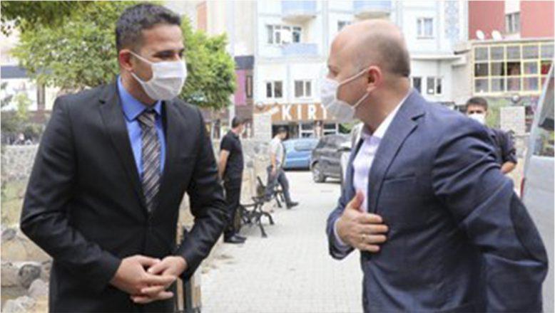 Vali Varol Doğubayazıt Kaymakamlığını Ziyaret Etti
