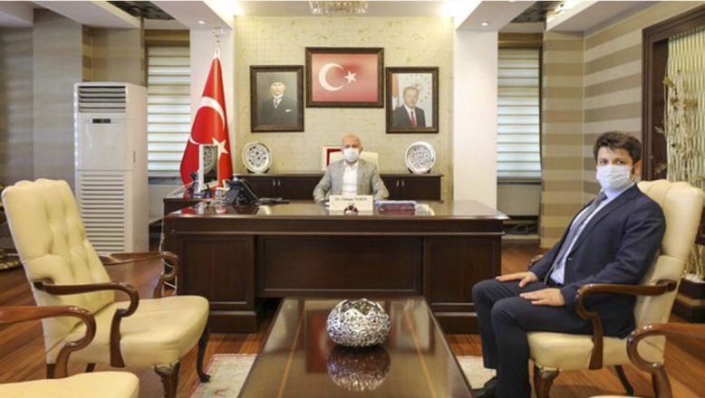 Hamur Kaymakamı Türker, Vali Varol'u Makamında Ziyaret Ederek Görevine Başladı