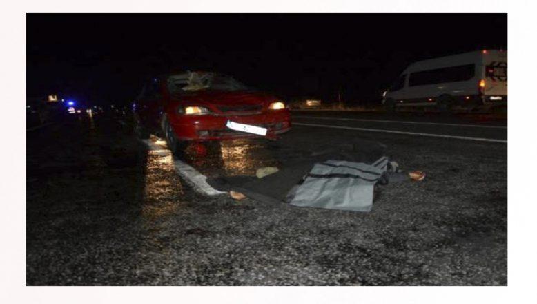 Ağrı'da otomobilin çarptığı bir kişi hayatını kaybetti
