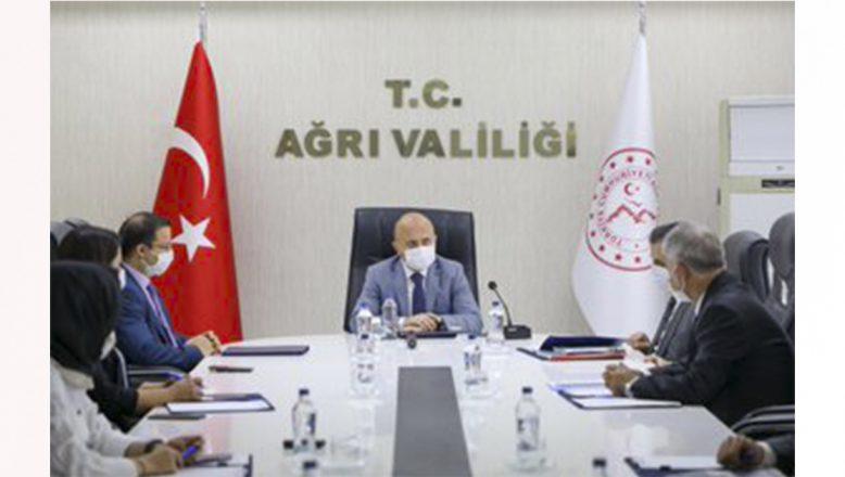 Vali Varol Başkanlığında, İl Kültür ve Turizm Müdürlüğü'nün Projelerinin Değerlendirildiği Çalışma Grubu Toplantısı Düzenlendi.