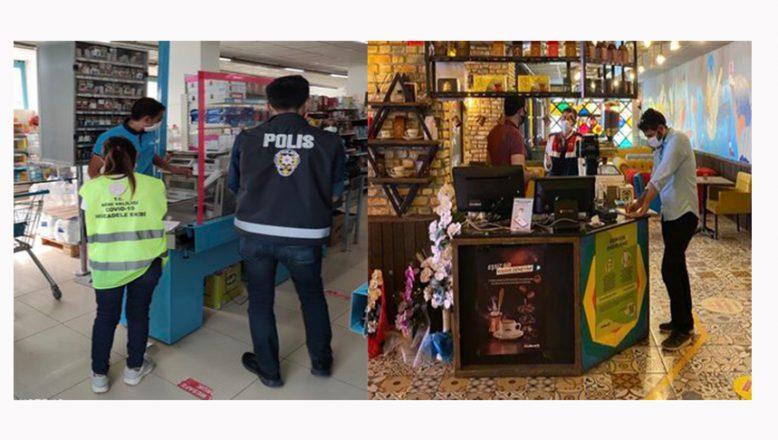 Ağrı'da karantina kuralına uymayan işletmelere 22 bin 50 lira ceza uygulandı