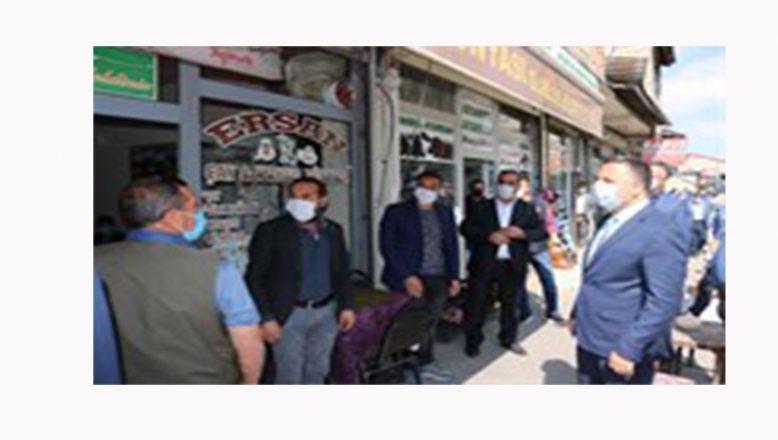 Patnos'ta Koronavirüs Denetimleri Yapıldı