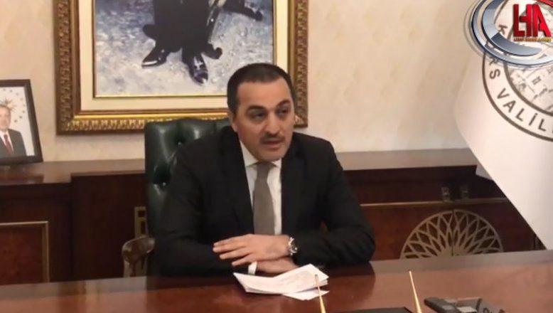Kars Valisi Öksüz, Kars Belediye Başkan Vekili olarak göreve getirildi