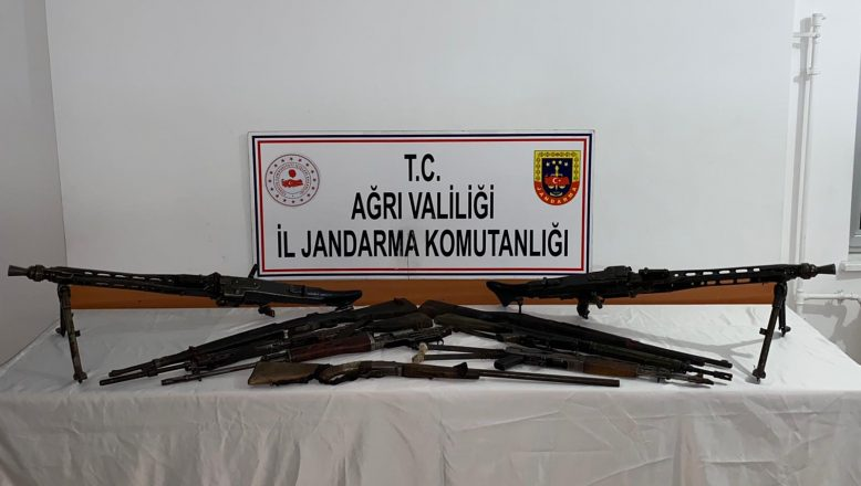 Ağrı Dağı kırsalında (6) terörist etkisiz hale getirildi