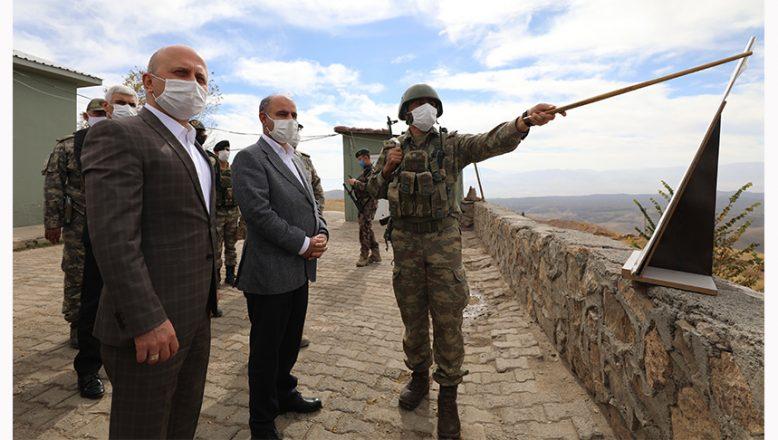 Emniyet Genel Müdürü Mehmet Aktaş  Doğubayazıt'ı Ziyaret etti