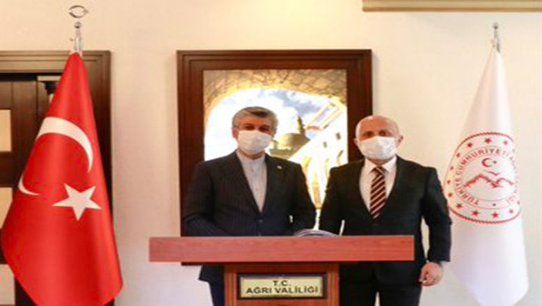 Başkonsolos Dr. Sajad Soltanzadeh'ten Vali Varol'a  Hayırlı Olsun Ziyareti
