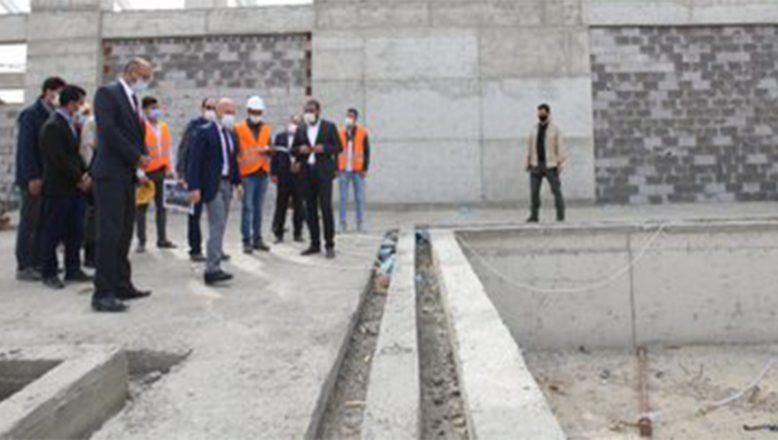 Vali Varol, Karaköse Kaplıcası ve Turizm Alanı'nda İncelemelerde Bulundu