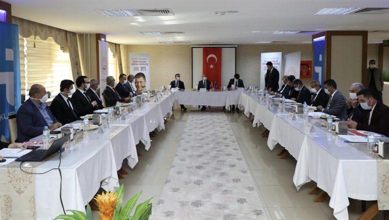 Vali Varol Başkanlığında İl İstihdam ve Mesleki Eğitim Kurulu Toplantısı Yapıldı