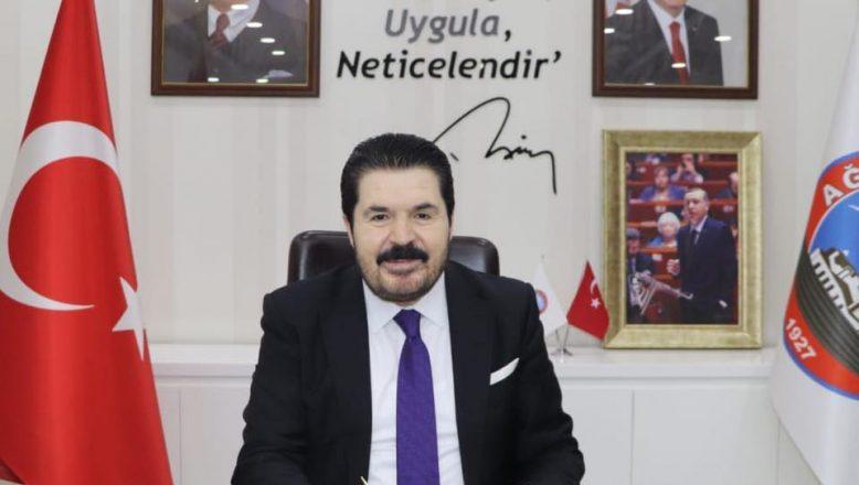 Ağrı Belediye Başkanı Savcı Sayan'ın Mevlit Kandili Kutlama Mesajı