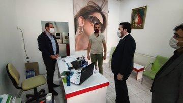 Başkan Sayan'ın Patnos Ziyareti