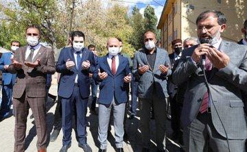 Vali Varol Camii ve Taziye Evi Temel Atma Töreni'ne Katıldı