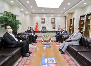 Başkonsolos Dr. Soltanzadeh'ten Başkan Sayan'a Ziyaret
