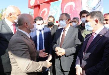 Eleşkirt Belediyesi 15 Temmuz Parkı Özhaseki'nin Katıldığı Törenle Açıldı