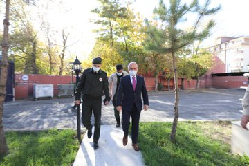 Vali Varol Askerlik Şubesi Başkanlığını Ziyaret Etti