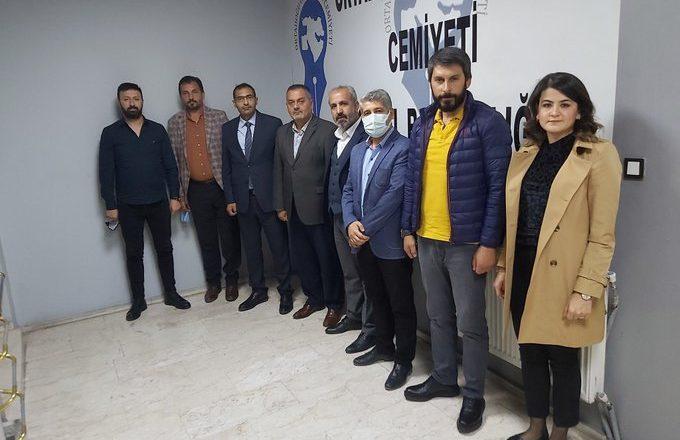 DEVA Partisi'nden  OGC'ye Ziyaret