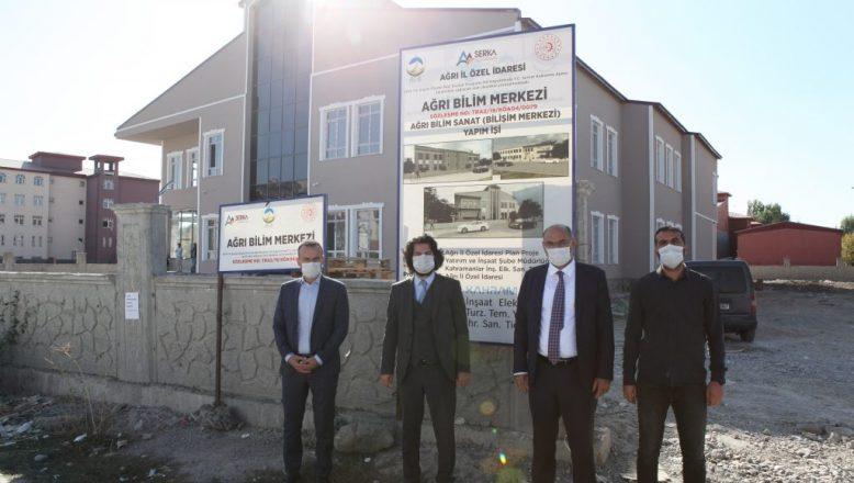 Ağrı'da SERKA Desteğiyle Bilim Merkezi ve Günübirlik Jeotermal Tesis Kuruluyor