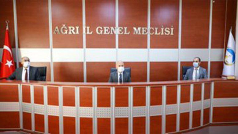 Vali Varol, İl Genel Meclisi 2020 Yılı Kasım Ayı Toplantısına Katıldı