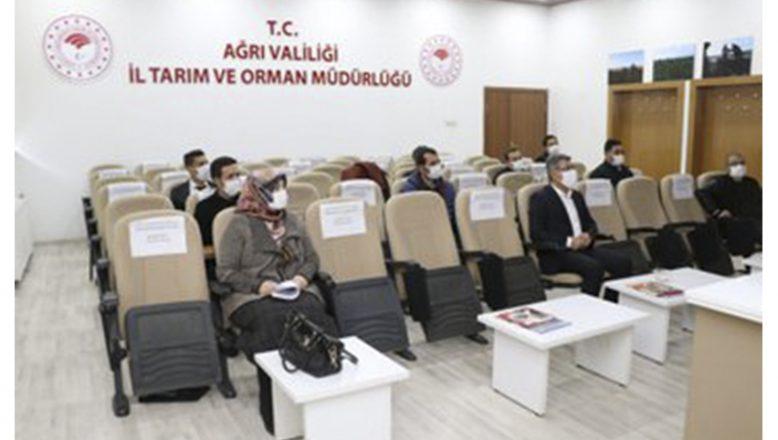 """İl Tarım ve Orman Müdürlüğünce """"Toprak Koruma """" Kurulu Toplantısı Yapıldı"""