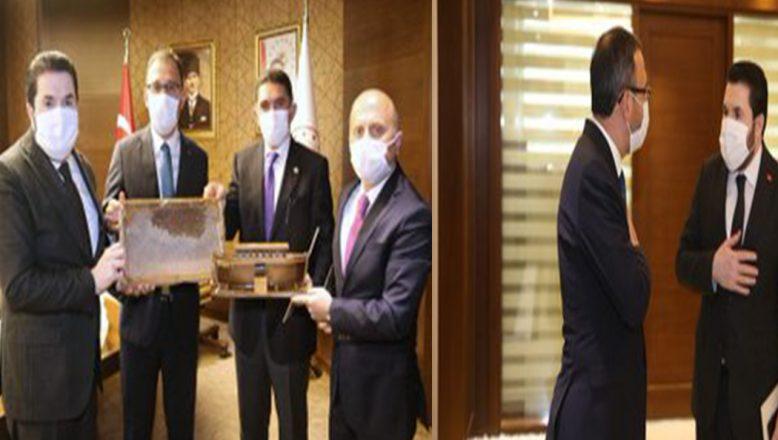 Gençlik ve Spor Bakanı Dr. Mehmet Kasapoğlu'na Ziyaret