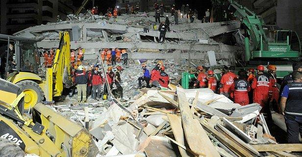 İzmir'de depremde can kaybı 58'e yükseldi