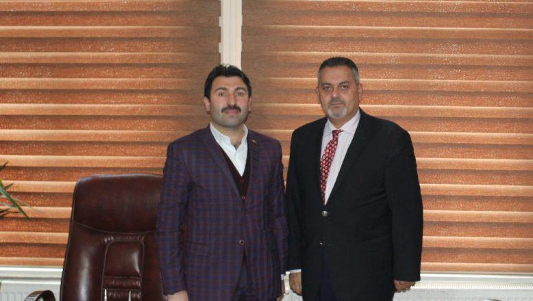 OGC Başkanı Aydın, Ak Parti Merkez İlçe Başkanı Yıldız'ı Ziyaret Etti