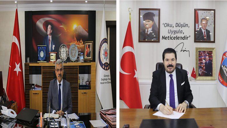 Savcı Sayan'dan İl Emniyet Müdürü Nihat Özen'e Teşekkür