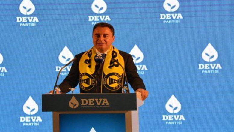 DEVA Partisi Genel Başkanı Babacan Ağrı İl Kongresine Katıldı