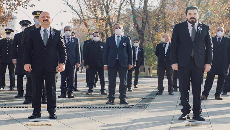 Büyük Önder Mustafa Kemal Atatürk, Ağrı'da Düzenlenen Törenle Anıldı