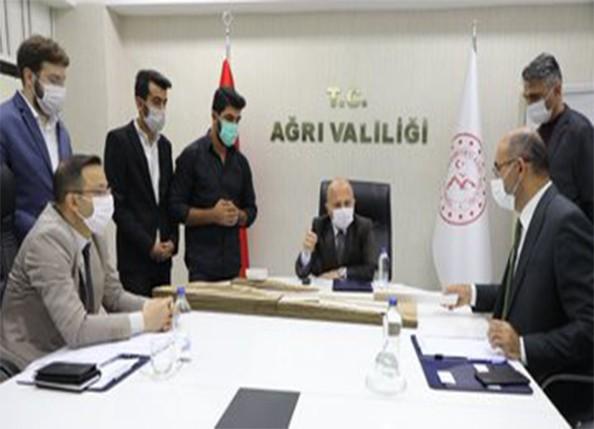 Vali Varol Başkanlığında Gıdakent Konulu Çalışma Grubu Toplantısı Düzenlendi