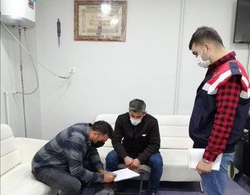 Ağrı'da Koronavirüs Denetimlerinde 2 Kişiye 3 Bin 150'şer Lira Para Cezası