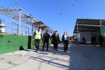 Başkan Sayan, Vali Varol'u  Çöpten Enerji Üretecek Katı Atık Tesisi Hakkında Bilgilendirdi