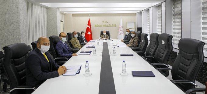Vali Varol Başkanlığında İl Pandemi Koordinasyon Kurulu Toplantısı Düzenlendi