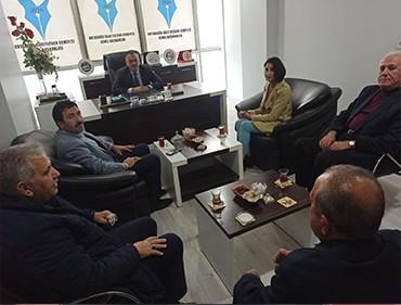 Ak Parti Merkez İlçe Başkanı Nuri Yıldız, OGC Başkanı Aydın'ı Ziyaret Etti