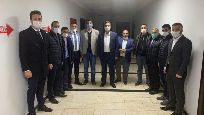 Taşlıçay Kaymakamı Ersöz'den Ağrı Yurt Ay Der'e ziyaret