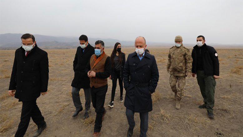 Vali Varol, Ağrı Dağı'nın Eteklerinde Bir Dizi İnceleme Gerçekleştirdi