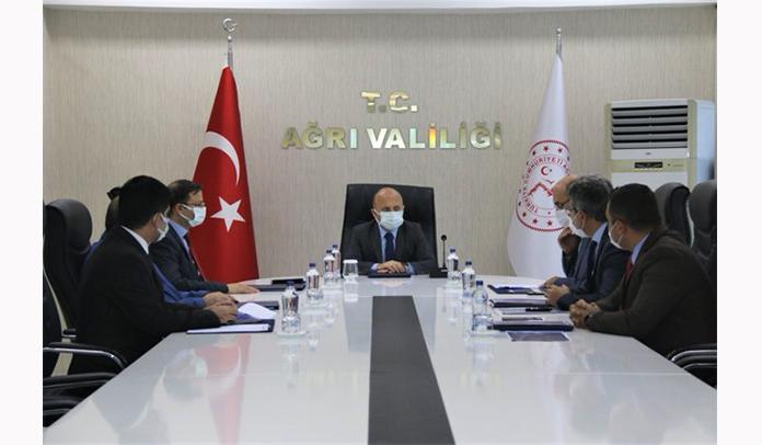 Vali Varol, Gıdakent Projesiyle İlgili Toplantıya Katıldı