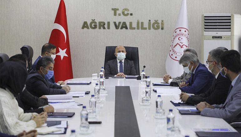 Vali Varol'Ağrı Dağı ve Çevresi Turizm Master Planı' Toplantısına Katıldı