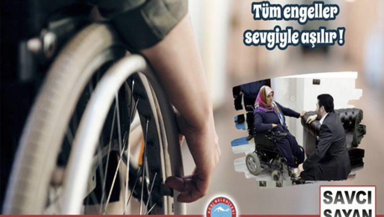 Başkan Savcı Sayan'ın 3 Aralık Dünya Engelliler Günü Mesajı