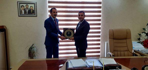 Harun Kılıç, Baro BaşkanıAv. Mehmet Salih Aydın'ı Ziyaret Etti