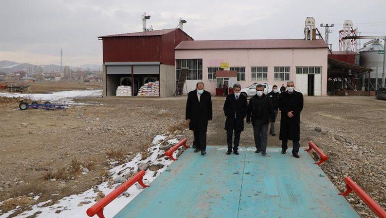 İl Tarım Müdürü Engin, Diyadin'de Un Fabrikasını Ziyaret Etti