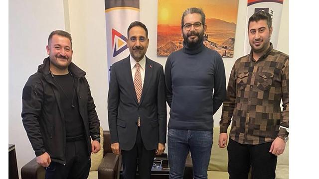 Ağrı Belediye Başkan YardımcısıAhmet Tunç'tan, TV04'e Ziyaret