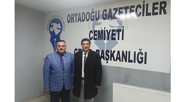 Sağlık Sen Başkan Yardımcısı Taşdemir, OGC'yi Ziyaret Etti