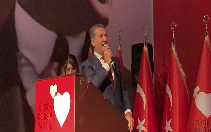 Mustafa Sarıgül'ün partisinin adı ve logosu belli oldu