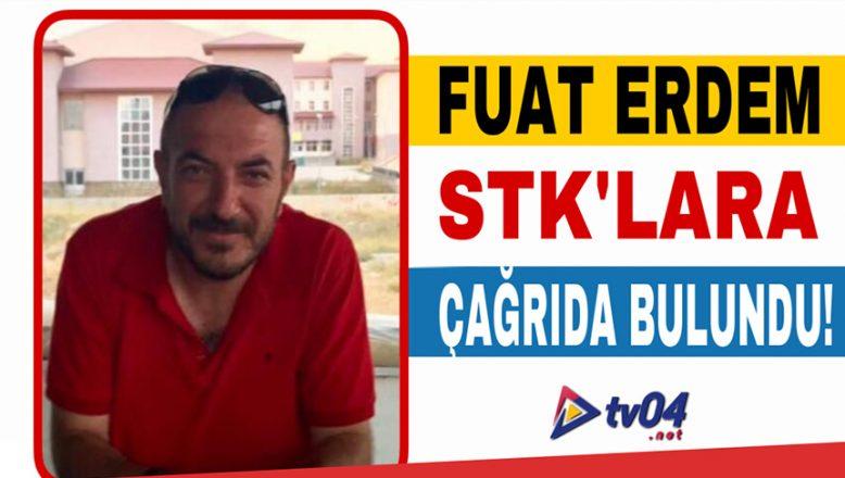 Araştırmacı, Yazar Fuat Erdem'den, Ağrı'da ki STK'lara Çağrı!
