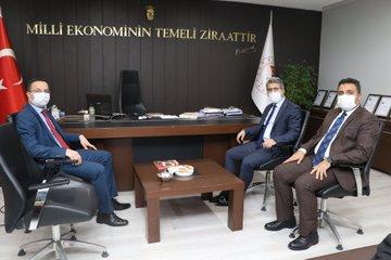 Vali Yardımcısı Ahmet Vezir'den Ziyaret