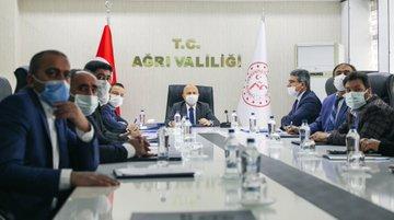 Vali Varol Tarım Sektör Çalışma Grubu Toplantısına Katıldı