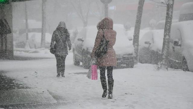 Ağrı ve çevre iller güne kar yağışı ile başladı