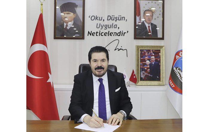 Başkan Savcı Sayan'ın Taziye Teşekkür Mesajı