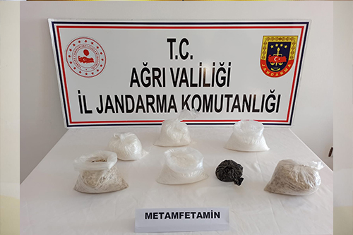 Ağrı'da Bir Şahsın El Çantasında 5 Kilogram Uyuşturucu Yakalandı