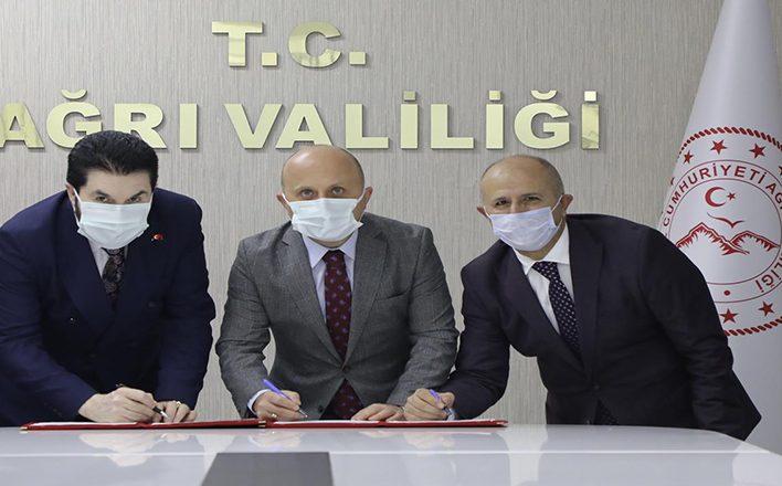 Vali Varol, Tapu ve Kadastro Yeni Hizmet Binası Protokolünü İmzaladı